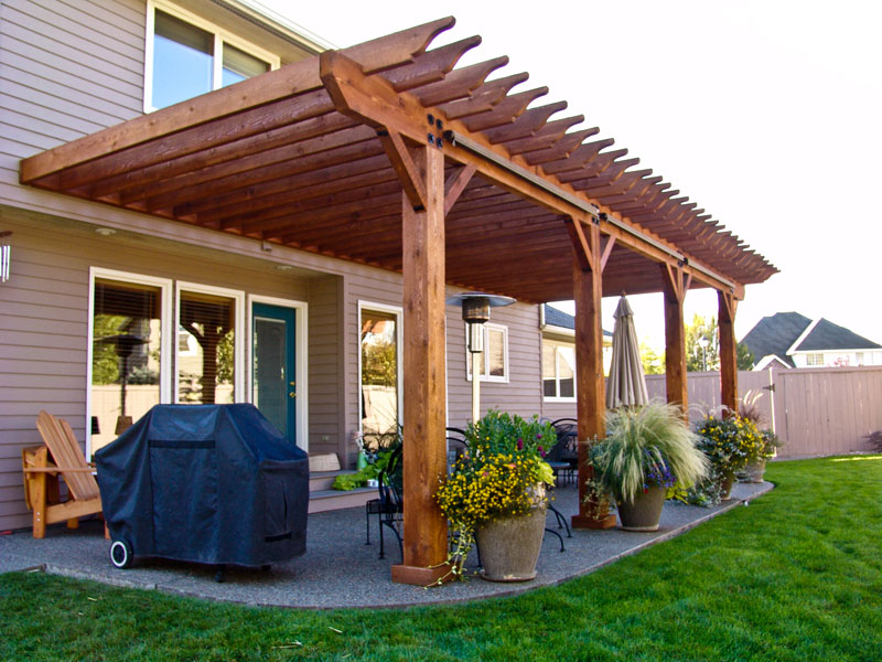 Covered Patio / Pavilion Design & Construction in Spokane & Coeur ...