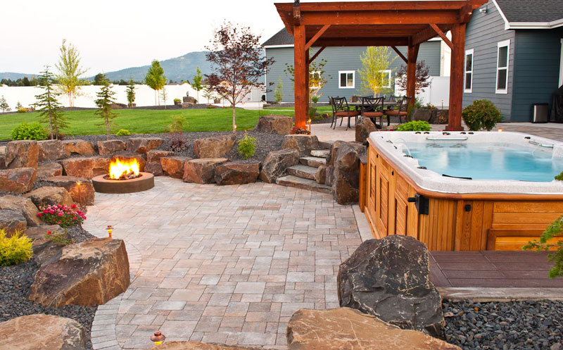 Custom Hot Tub Design And Installation In Spokane U0026 Coeur Du0027Alene